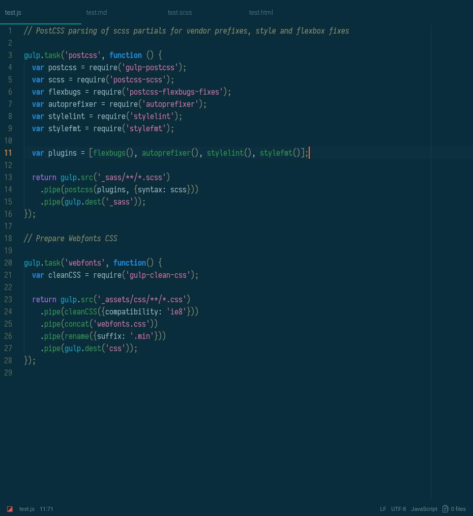hyperion dark screenshot js