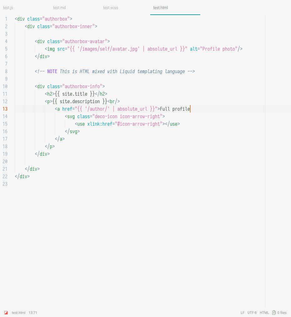 hyperion light screenshot html
