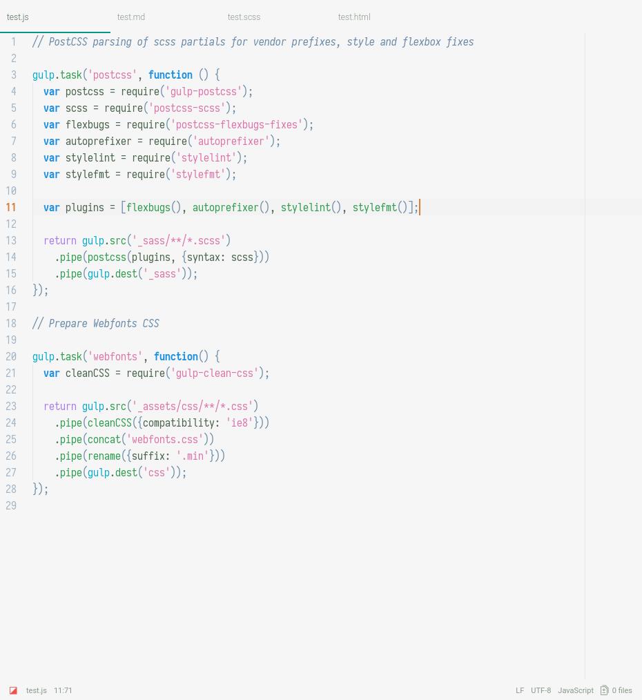 hyperion light screenshot js