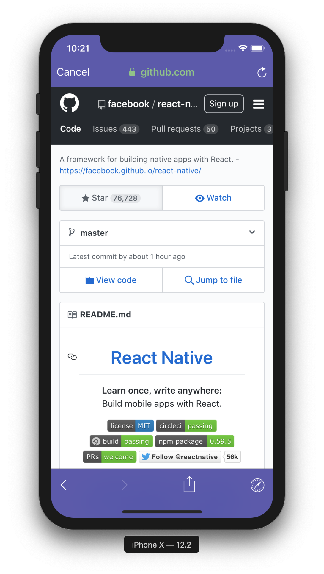 react-native-inappbrowser-reborn - npm