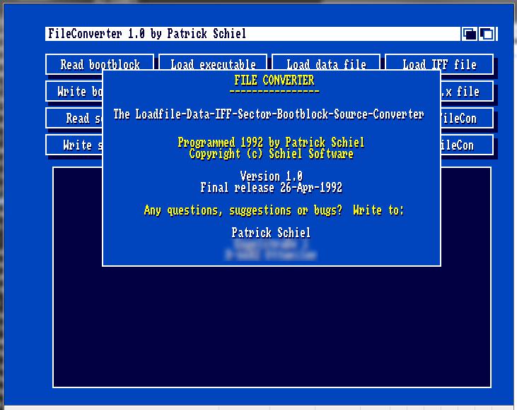 Fileconv screenshot 1