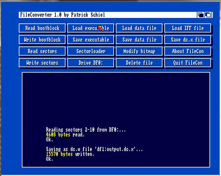 Fileconv screenshot 3