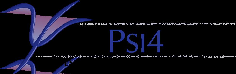 Psi4 banner logo