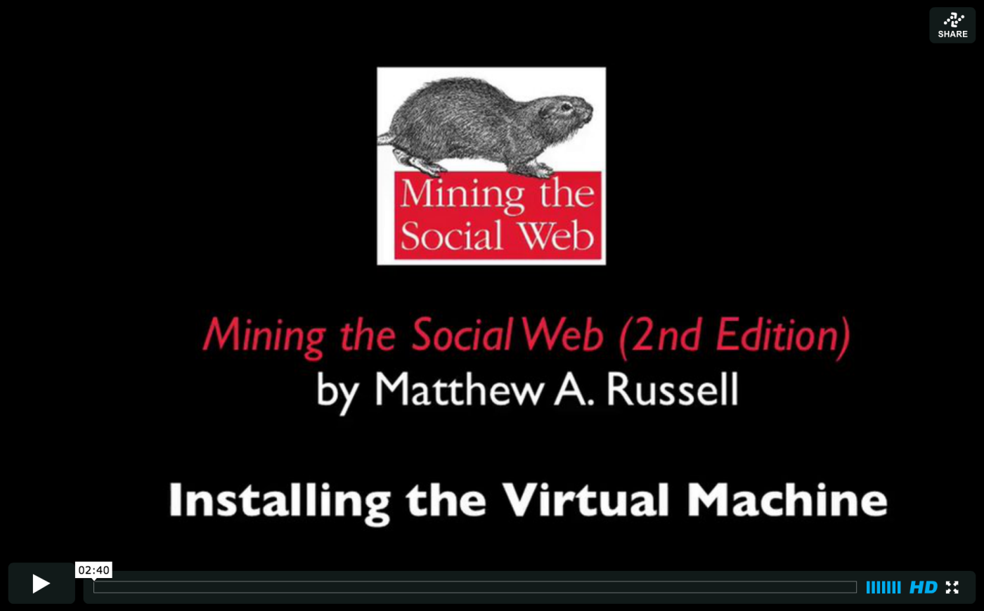 Installing the Virtual Machine