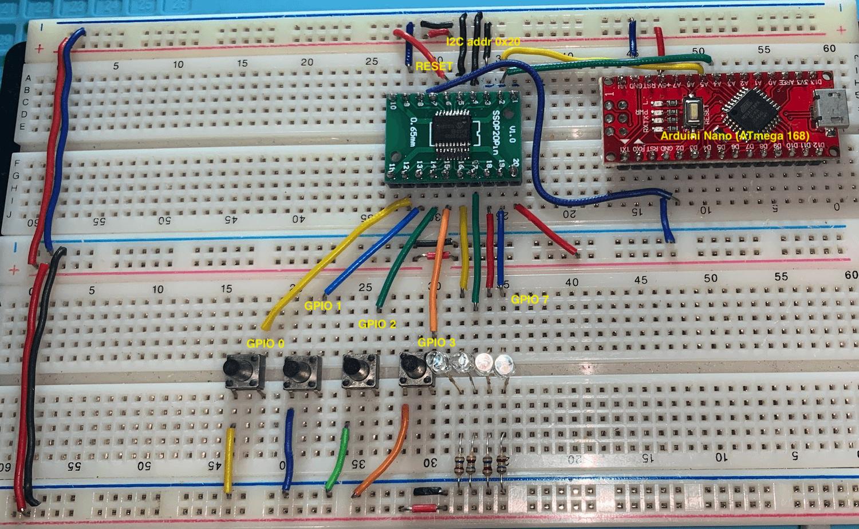 Basic prototype based on input / output schematic