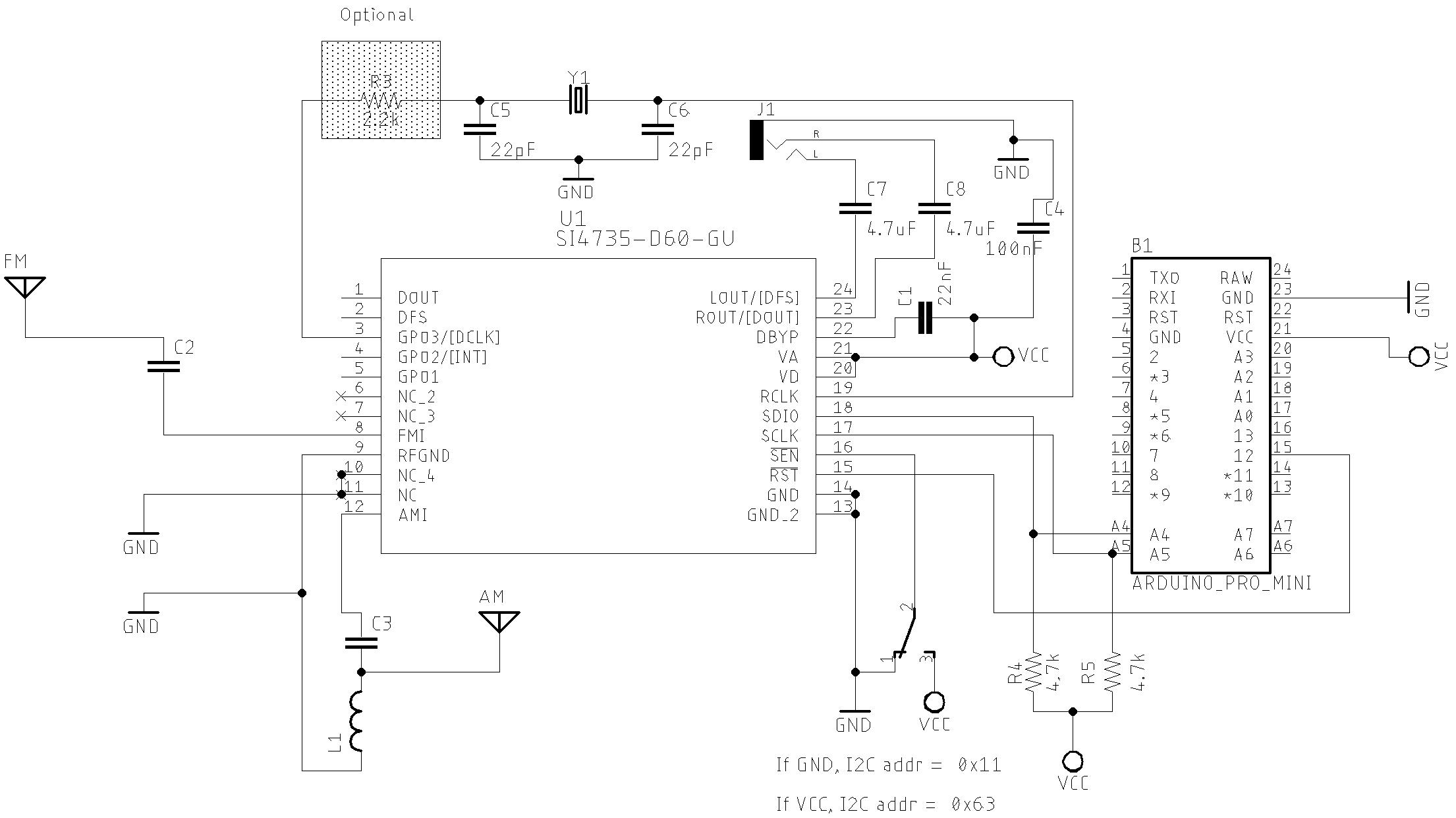 Basic Schematic Eagle version