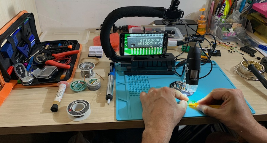 SIC SI4730 soldering on adapter