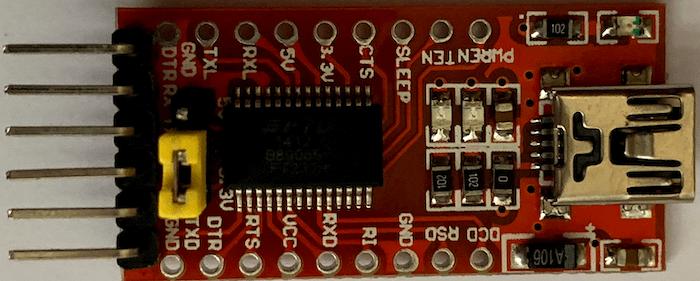 FT232 USB A