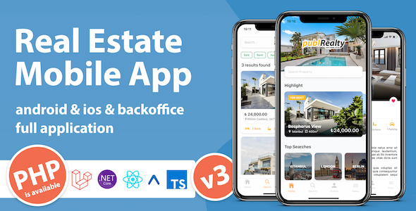 Real Estate Mobile App Template With React Native - 4