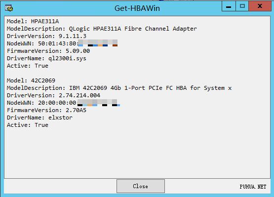 Get-HBAWin