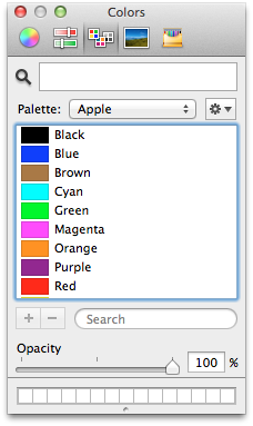 System color picker
