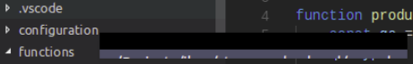 screenshot showing the partial blackout