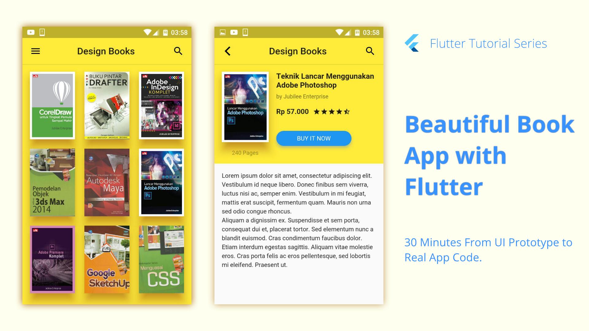Book App Flutter