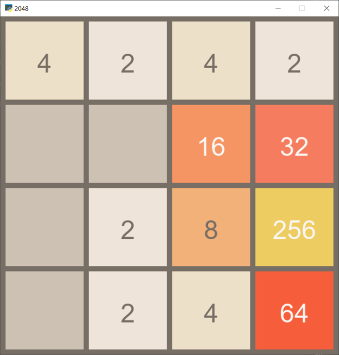 2048 In Action