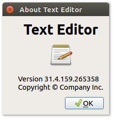 Qt Text Editor
