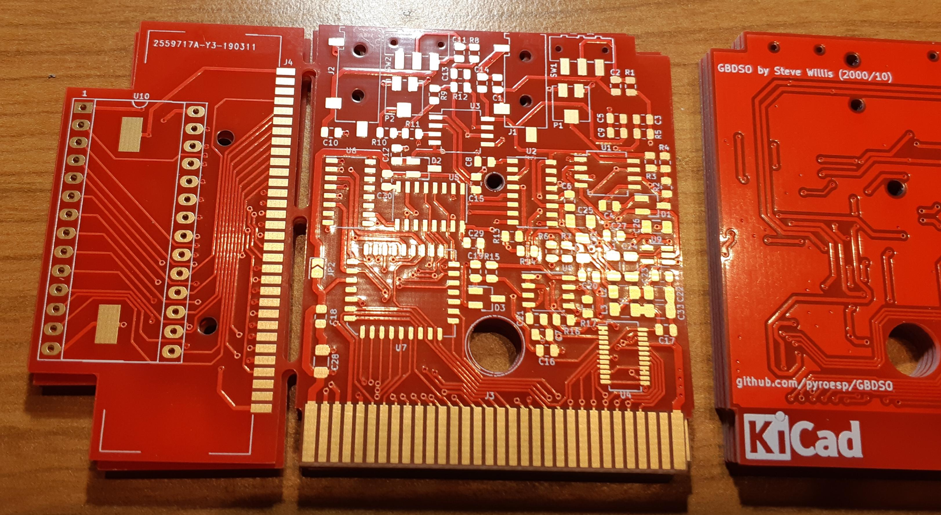 PCB v1 front