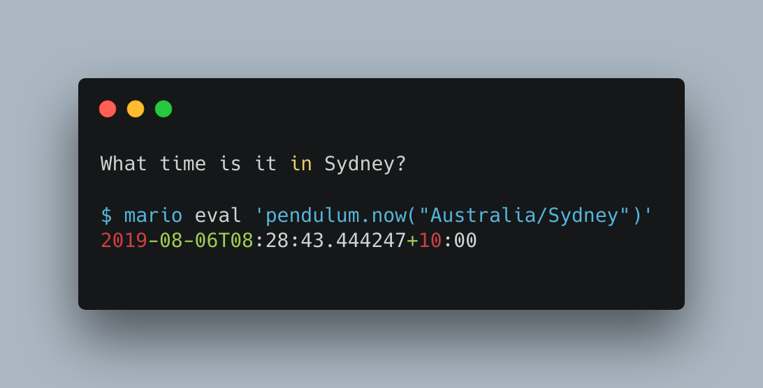 What time is it in Sydney?