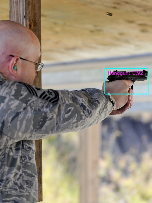 Example of Gun Detection