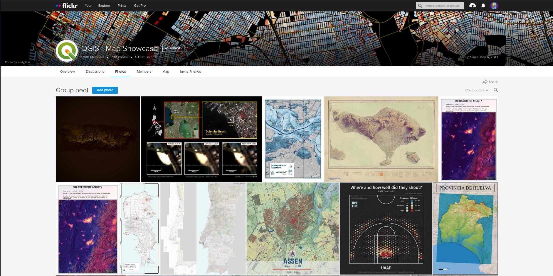 QGIS Map Showcase