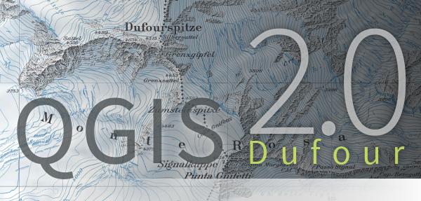 QGIS 2.0 logo splash screen