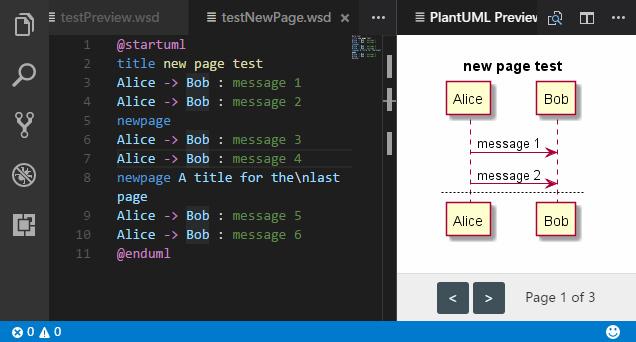 Multi-Page demo