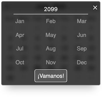 Custom overlay text screenshot