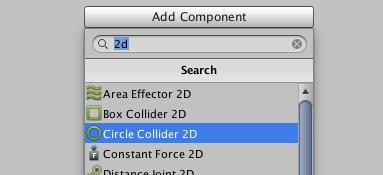 Adding a collider