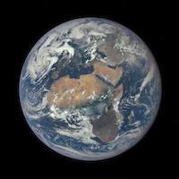 Earth smaller