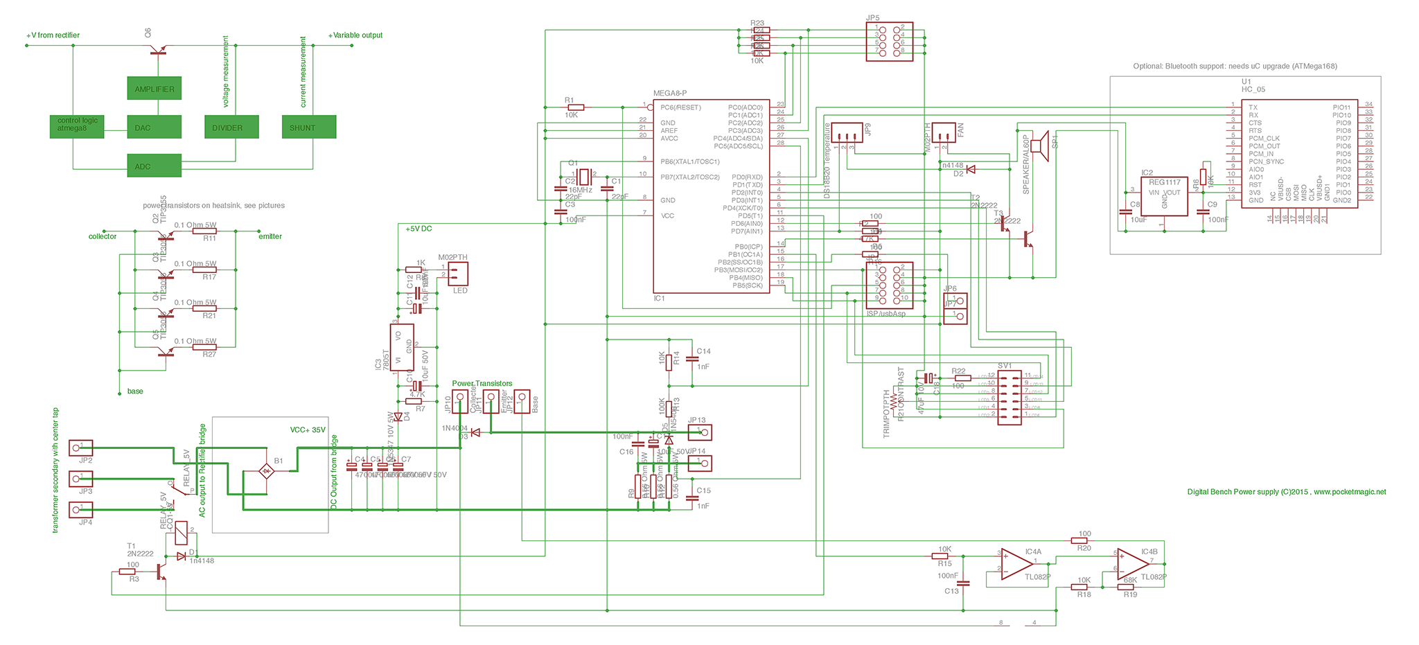 12v Variable Bench Power Supply Schematic on reg 12 volt dc power supply diagram