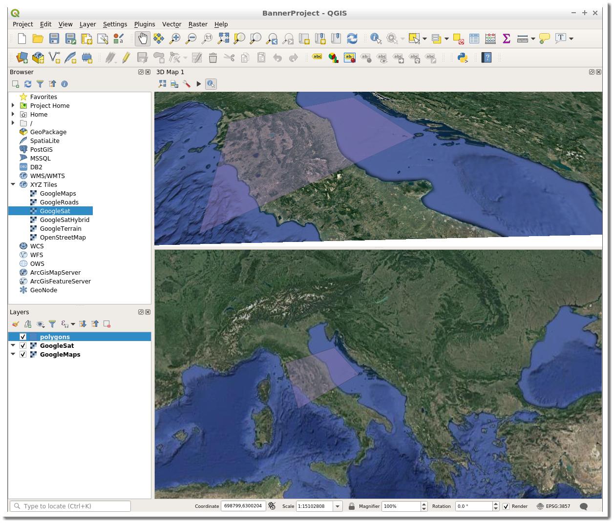 qgis_desktop_docker screenshot