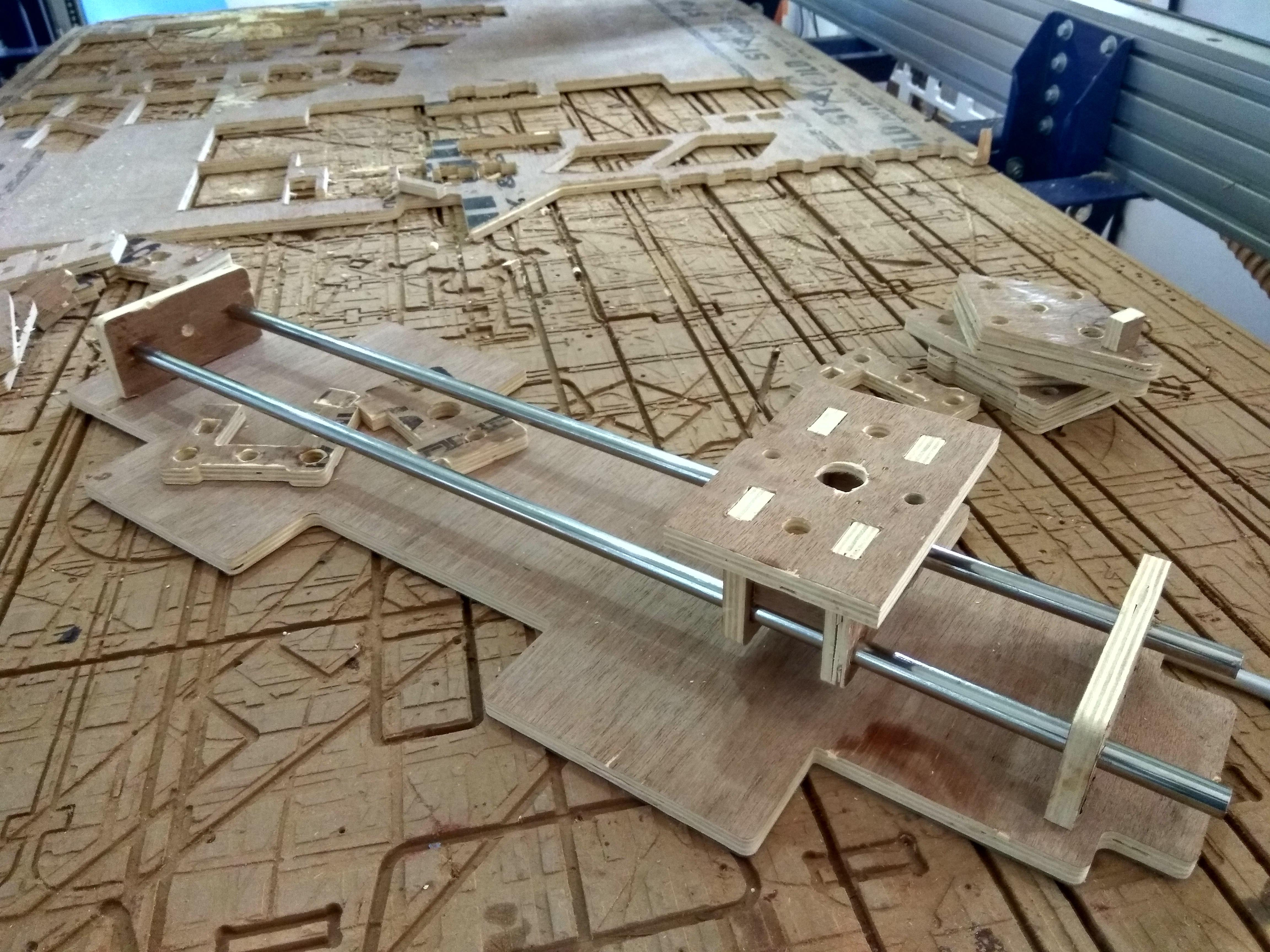 4 axis foam cutter