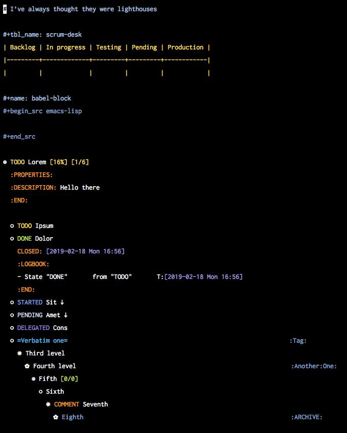 org-mode