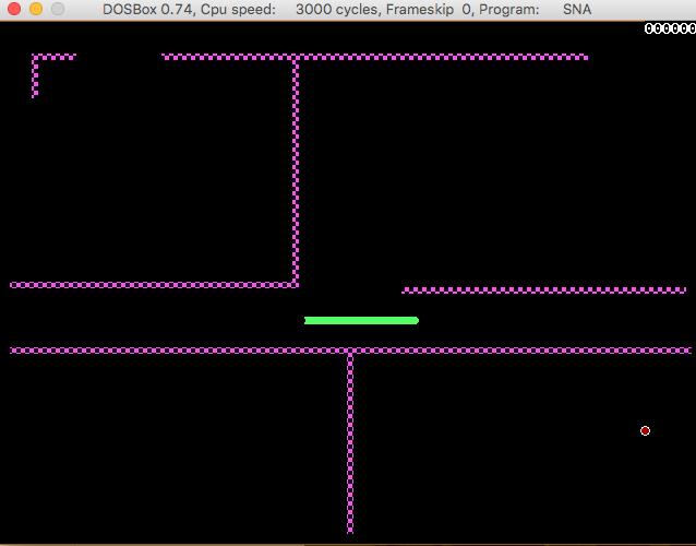 GitHub - rajgopalv/snake: Snake Game written with Turbo C++