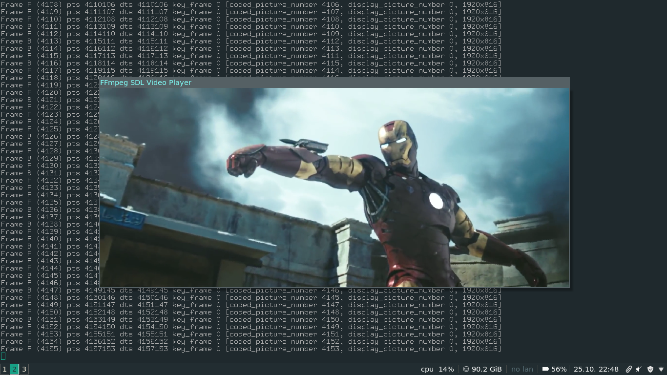 FFmpeg Video Player