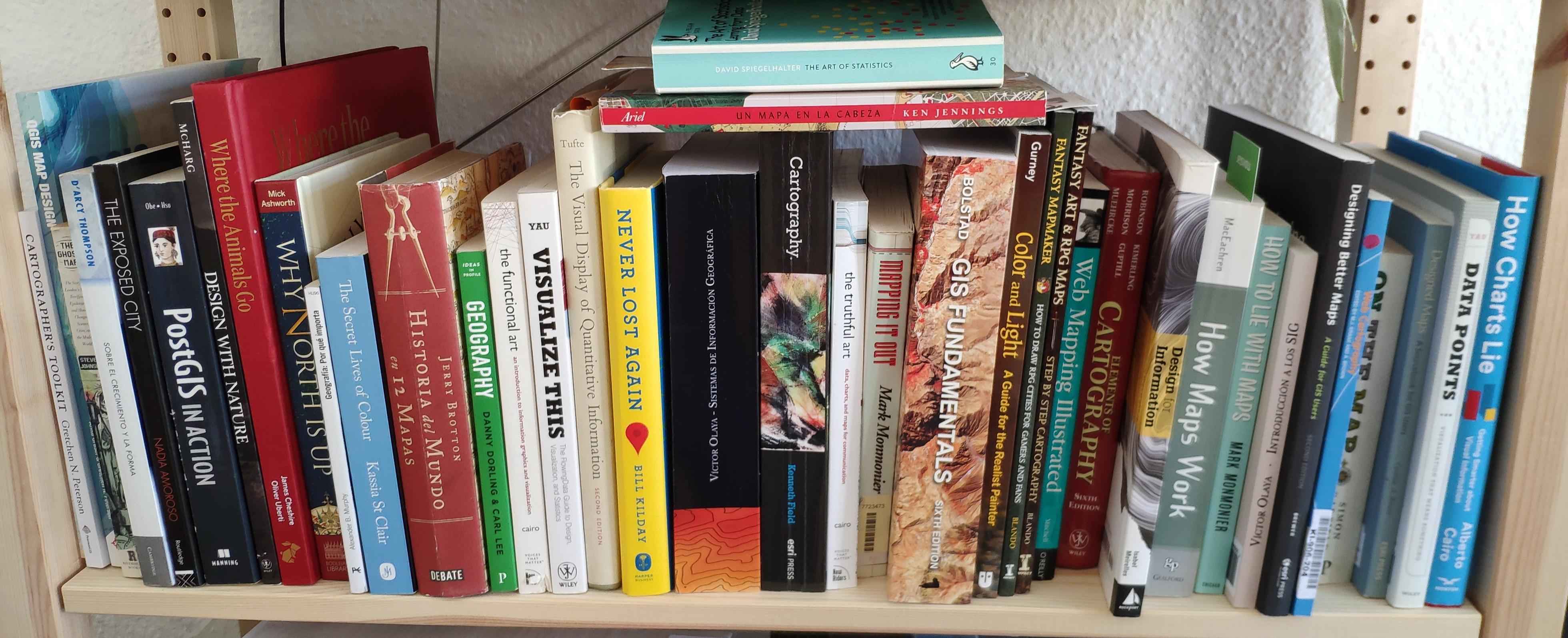 cartography-books-shelve