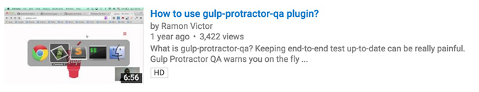 How gulp-protractor-qa works?