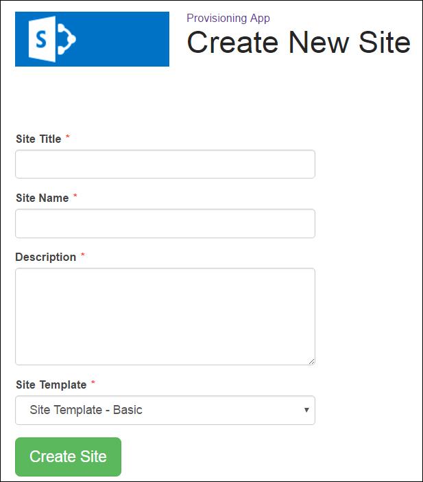 Create Subsite