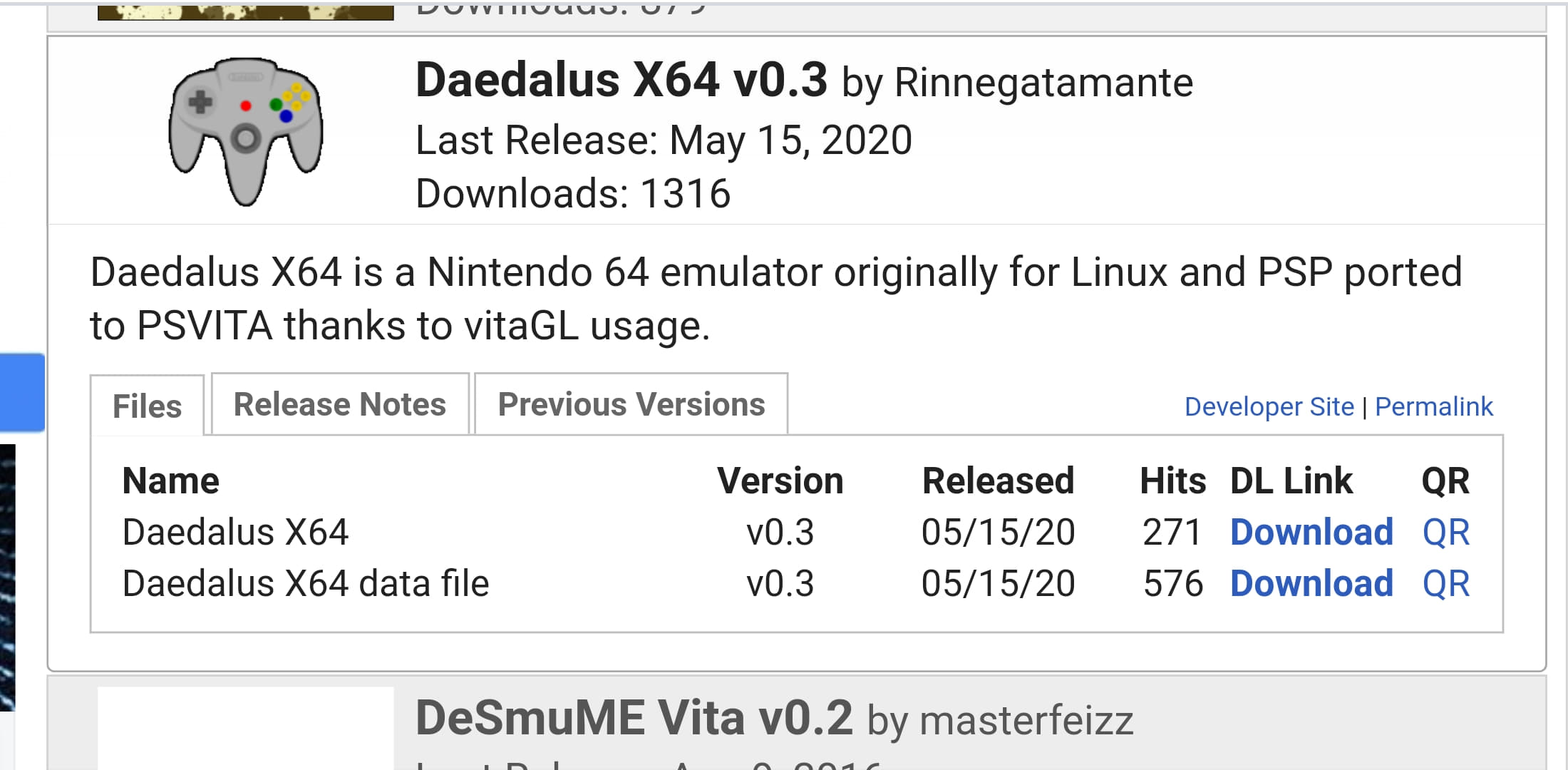 Daedalus X64
