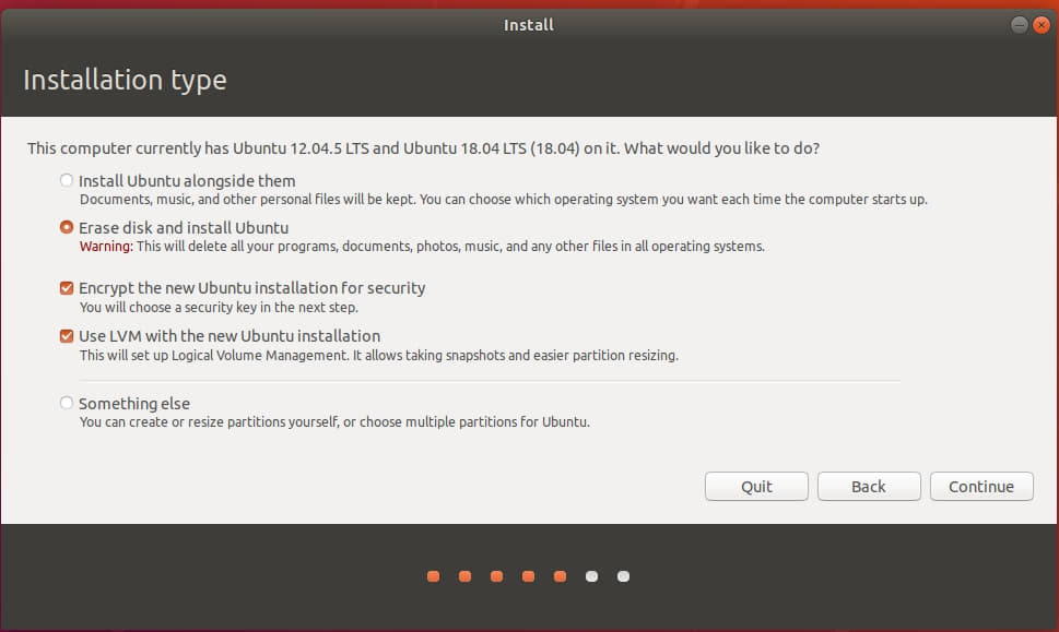 "partitioning - Ubuntu installer with two disks: whihc one will be selected  by ""erase disk and install"" - Ask Ubuntu"
