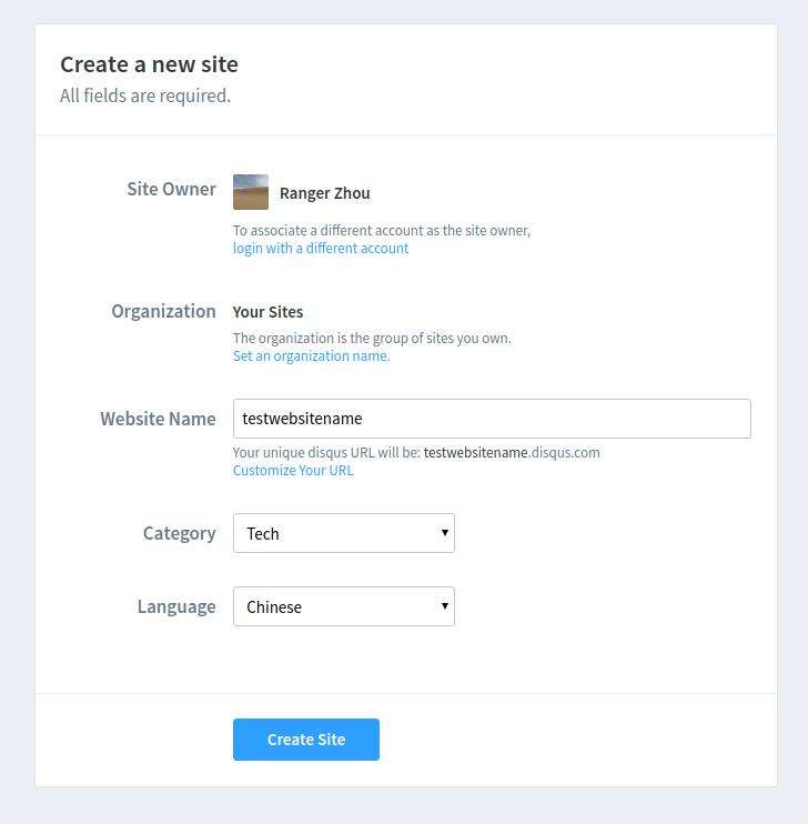 CreateNewSite