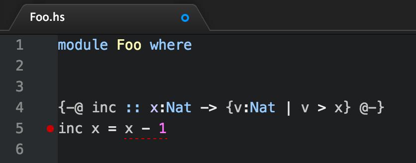 language-liquidhaskell in action