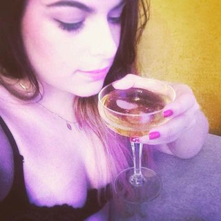 Champagne and lingerie