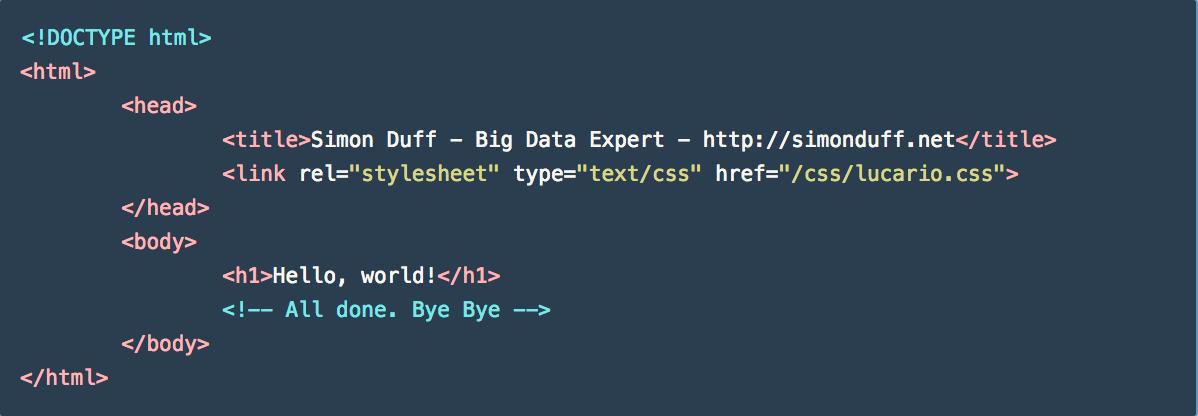 CSS Example