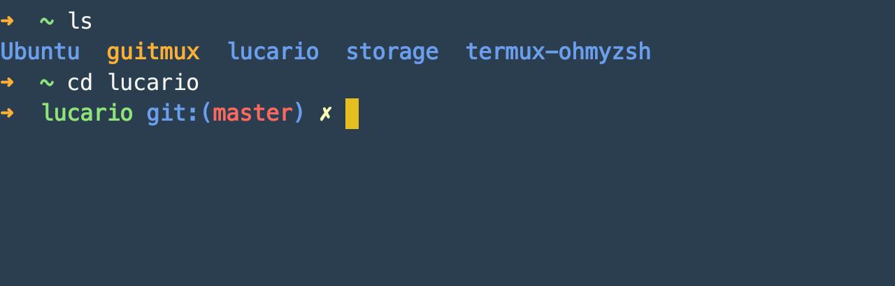 Termux Example