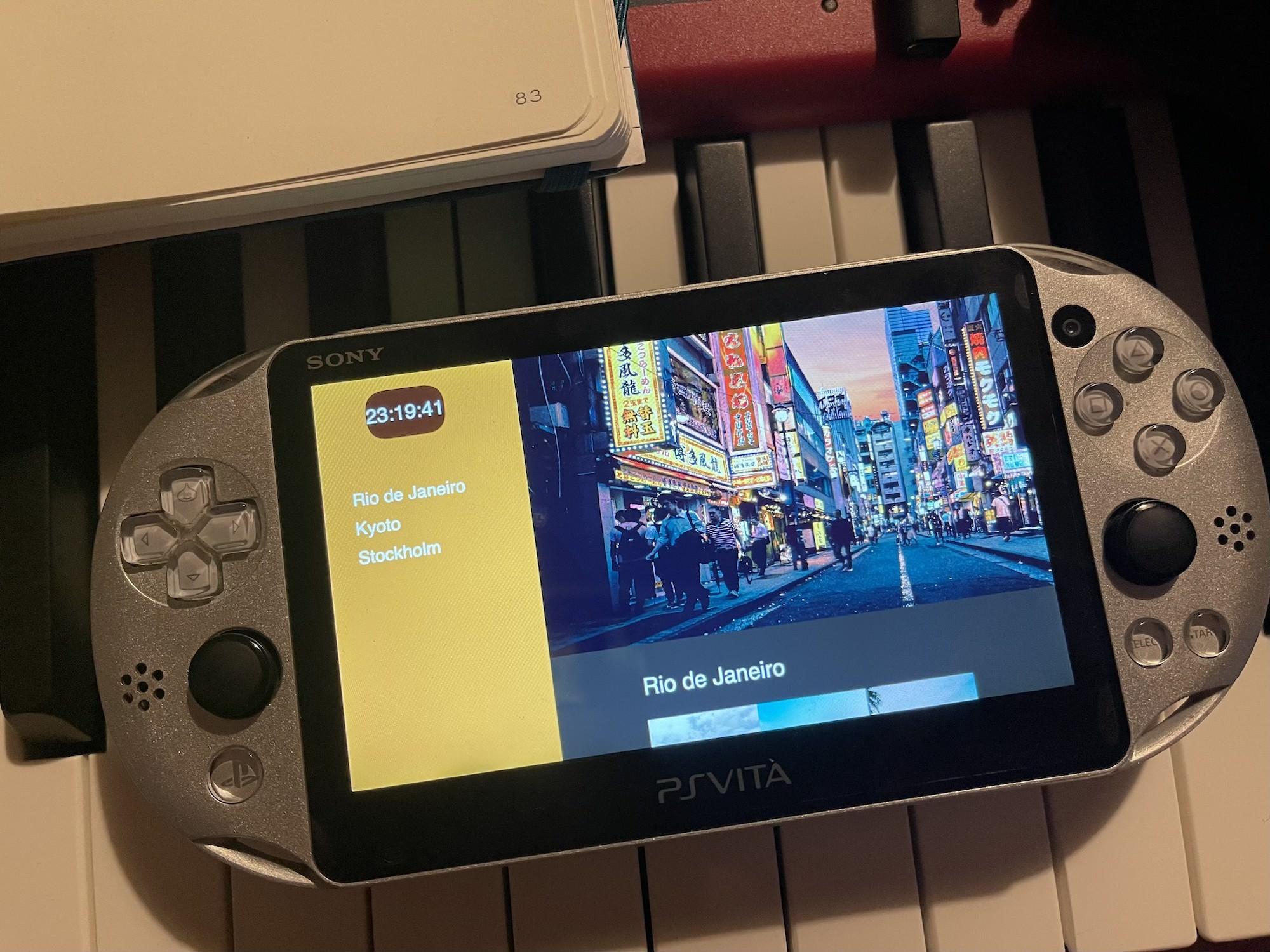 Demo PS Vita