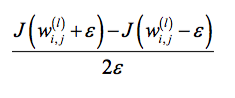 Approximated gradient 3