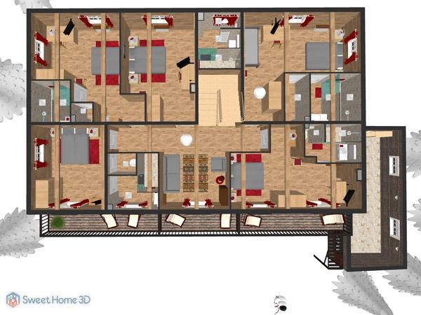 Sweet Home 3D Plan View
