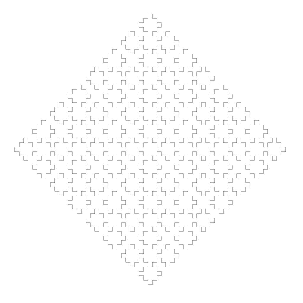 Sierpinski Curve Example Image