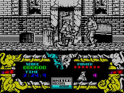 Standard ZX screenshot