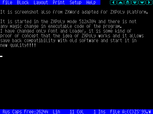 ZXPoly512x384 screenshot